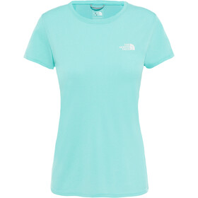 The North Face Reaxion Ampere Crew Shirt Women mint blue heather